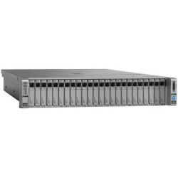 UCS C240M4SX w/2xE52660v3,2x16GB,MRAID,2x1200W,32G SD,RAILS