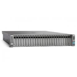 UCS C240M4SX w/2xE52650v3,2x8GB,MRAID,2x1200W,32G SD,RAILS