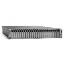 UCS C240M4SX w/2xE52680v3,2x16GB,MRAID,2x1200W,32G SD,RAILS