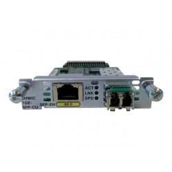 EHWIC 1 port dual mode SFP(100M/1G) or GE(10M/100M/1G) Spare