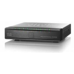 Cisco Przełącznik SG 200-08P 8-port Gigabit PoE Smart Swit