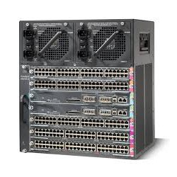 Catalyst4500E 7 slot chassis for 48Gbps/slot, fan, no ps