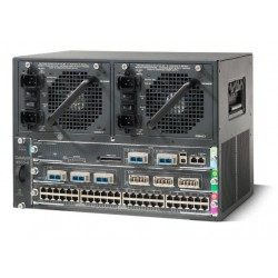 Cat4500 E-Series 3-Slot Chassis, fan, no ps