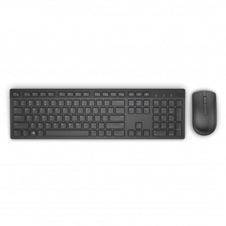 DELL KM636 RF Wireless QWERTY Amerykański międzynarodowy Czarny klawiatura