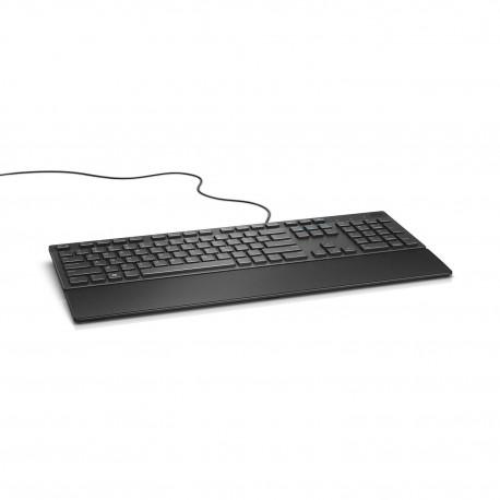 DELL KB216 USB QWERTY Amerykański międzynarodowy Czarny klawiatura