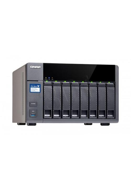 Serwer plików NAS QNAP TS-831X-8G, 2 x 10Gb SFP+