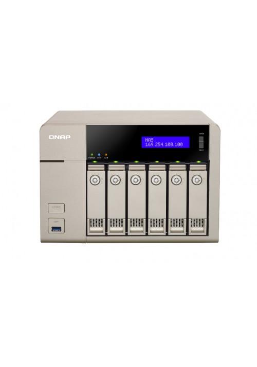 Serwer plików NAS QNAP TVS-663-4G