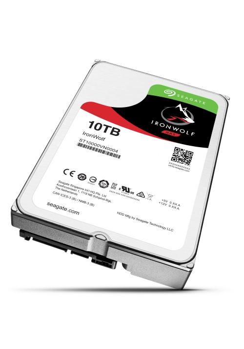 Dysk SEAGATE IronWolf™ 10TB ST10000VN0004 7200 256MB SATA III NAS