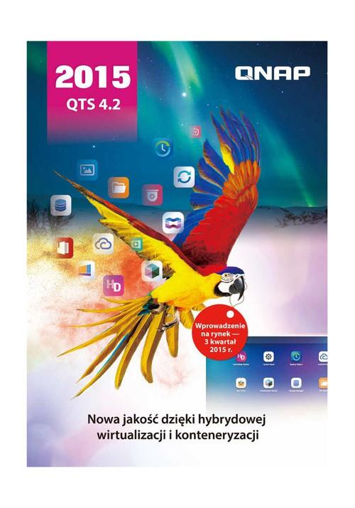 Bezpłatny Katalog QTS 4.2 - system operacyjny do urządzeń NAS